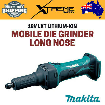 Makita DGD800Z 18V LXT Lithium-Ion Long Nose Mobile 1/4 Inches Die Grinder