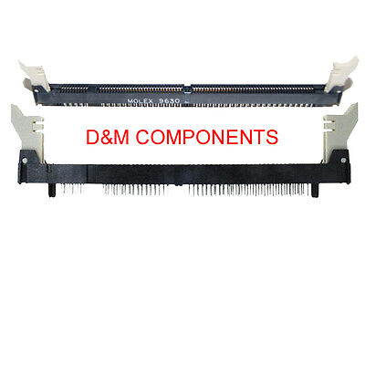 "71251-0012 DIMM Socket, Vertical, 168 Circuits, 1.27mm (.050"") Pitch, MOLEX"
