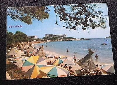 Postcard: Es Cana: Ibiza: Posted: Post Date On Card Is 1982