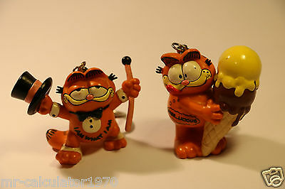 Job Lot Vintage Garfield Keyrings 1981 Bully West Germany