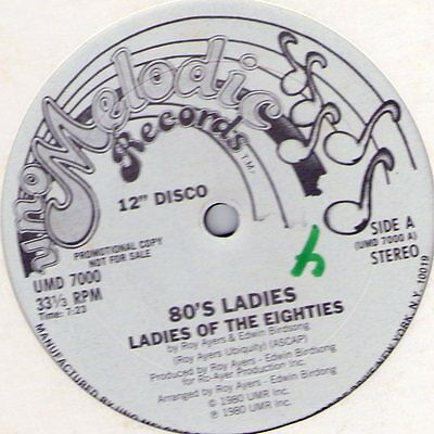 "rare Soul 12"" (Hear Sample) 80'S LADIES ""Ladies Of The Eighties"" Melodic Promo!"