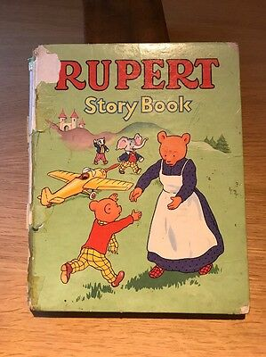 Vintage Rupert Bear Annual VERY OLD 1958 storybook Story Book