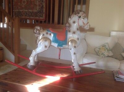 Vintage Triangle Moby Rocking Horse