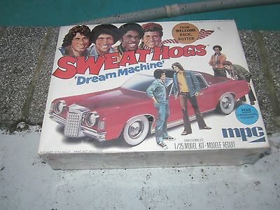 Nos Sealed Vintage Grand Prix Pimp Car Model Kit Sweat Hogs Dream Machine Tv Car