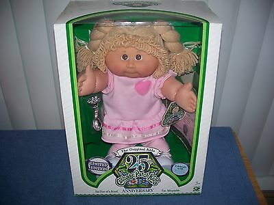 Limited Edition 25th Anniversary Cabbage Patch Kids Doll - Barbara Yvette