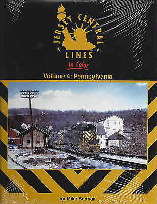 Jersey Central Lines in Color: PENNSYLVANIA - Lehigh River Valley - (NEW BOOK)