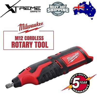 Milwaukee M12 Cordless Rotary Tool - SKIN ONLY C12RT-0