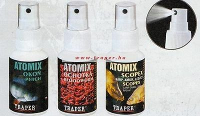 TRAPER CONCENTRATED SCENT OPTIMISER / Attractant SPRAY for Fishing Lures 50G
