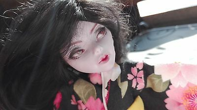 OOAK Monster High custom repaint Operetta kimono geisha