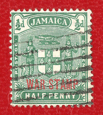 Stamp Jamaica (1915) - War Stamp Overprint