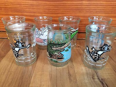 Set Of 7 Welches Jelly Glasses