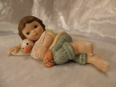 Goebel Nina Marco Klimke Girl With Duckling Excellent Condition Hard To Find