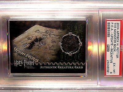 Harry Potter-POA-GRADED-Authentic-Prop Card-The Monster Book of Monsters-279/310