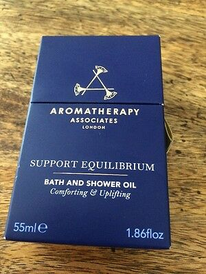 Aromatherapy Associates Support Equilibrium Bath And Shower Gel 55ml New/sealed