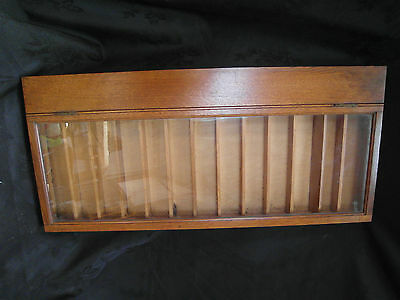 Antique Shop Counter Display Case, Cigars/sewing?