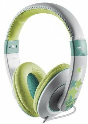 Trust Sonin Kids Headphone, Hearing Protection For Kids - Grey/Green