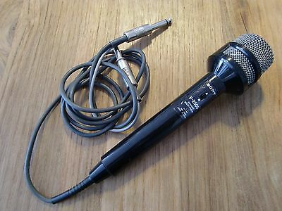 Sony F-250S Dynamic Microphone Vintage