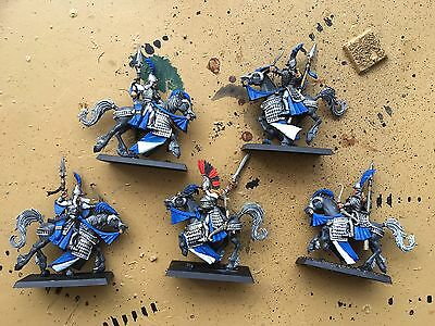 5 Painted High Elf Reavers With Champion Warhammer AoS 9th Age
