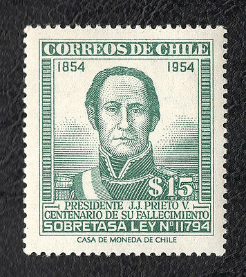 Stamp Chile (1955)