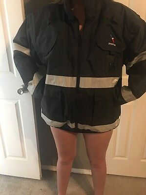American Airlines Patch Large Heavy Duty Coat Jacket w/ Liner Grounds Crew