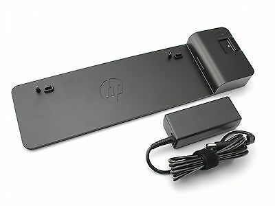 HP 2013 UltraSlim-Dockingstation + 65W Netzteil für Hewlett Packard EliteBook Re