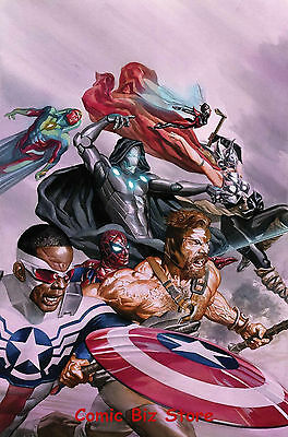 Avengers #8 (2017) 1St Printing Bagged & Boarded Marvel Now