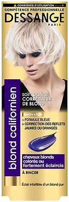 Dessange - Blond Californien - Soin Patine Correcteur de Blond - 125 ml
