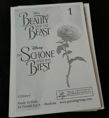 10 beauty and the beast stickers for £1