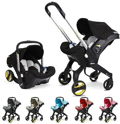 Doona Infant Car Seat & Stroller - 6 Colors - Fast Shipping