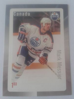 Canada Post 2016 NHL® Forwards Mark Messier Stamp Card
