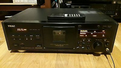 TEAC V 7000 piastra tape cassette deck Original box remote manual