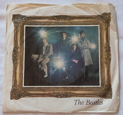The Beatles Strawberry Fields Forever, Penny Lane ORIGINAL picture sleeve VG+