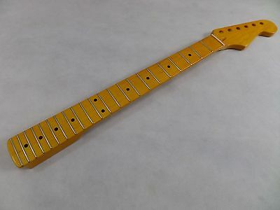 Guitar Neck Strat Canadian Maple 22 Frets Stratocaster High Gloss Brand New