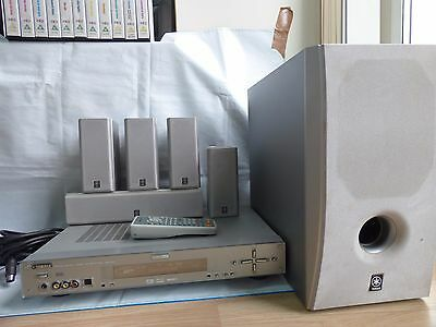 YAMAHA AVR-S80 Home Theatre Sound System Amplifier Speakers & Sub & Bluetooth