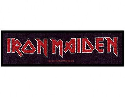 IRON MAIDEN logo 2011 - WOVEN STRIP SEW ON PATCH official merchandise (sealed)