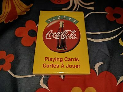 Vintage retro Always Coca Cola, Coke, Playing Cards deck 1994 BRAND NEW SEALED