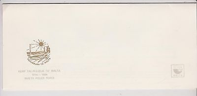 Malta  - FDC - Presentation Envelope - Malta Police Force - 1984 - used - (553)