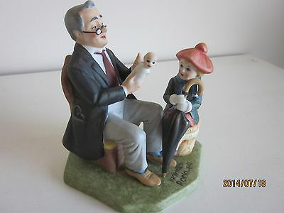 Norman Rockwell Figurine Doctor & the Doll  1980