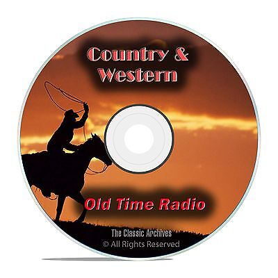 Country Music, Westerns, 1134 Old Time Radio Shows, Jubilee, OTR, DVD CD G07
