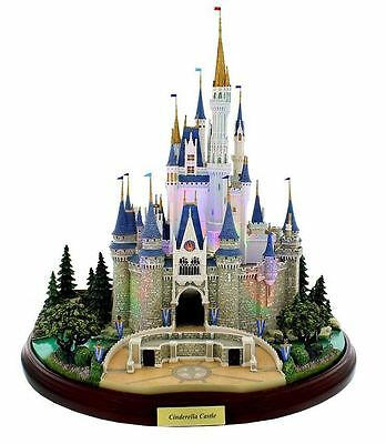 Disney Parks Cinderella Castle Olszewski Figure Main Street Miniature NEW IN BOX