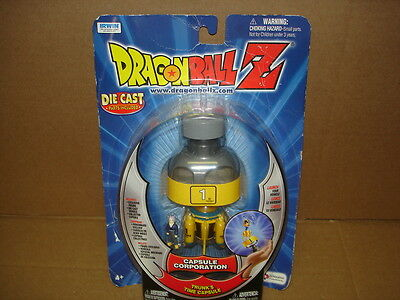 Dragonball Z Dragon Ball Trunk's Time Capsule Corporation Action figure SEALED