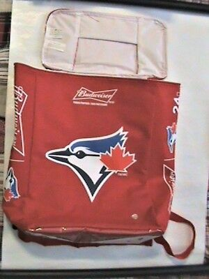 Insulated Backpacks Icebox Coolers - Budweizer Bud Light Hold 24 Beers BlueJays