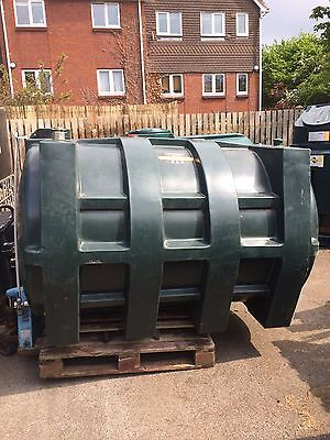 Carbery 2500 Litre Fuel Storage Plastic Diesel Heating Oil Tank Can Deliver