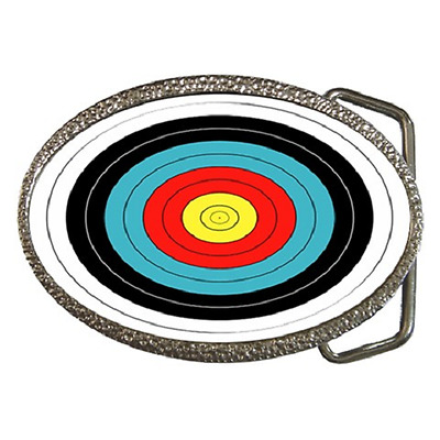 Archery Target Archer's Target Theme Belt Buckle - Great Gift Item