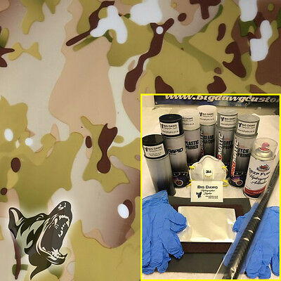 Hydro dipping Hydrographics home starter Dip Kit - Traditional Camo (DK-CAM05)
