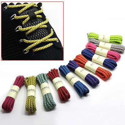 Newly Shoelaces Athletic Round Shoe Laces Women Men Running Sneakers Shoestrings