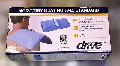 Heating Pad Drive Medical Moist-Dry Heating Pad-Standard NEW in Box