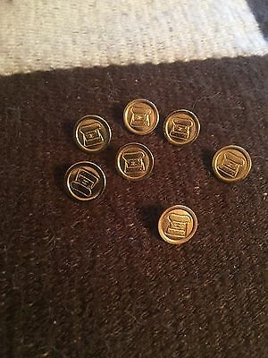 Chanel Goldtone Cc Logo Purse Button 12Mm One Button Only