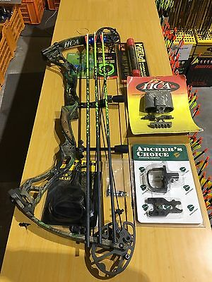 "High Country Archery Speed Pro X10 Compound Bow 60# 27-29"" RH Kit (#1902)"