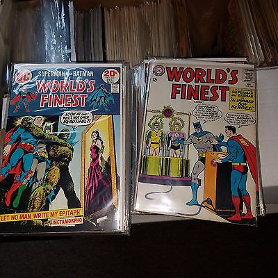 World's Finest Lot 75 - Issue #s 147, 151, 168, 172, 178, 256-323 + More, Batman